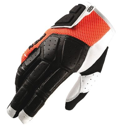 simi-100-mtb-glove-orange-size-sm